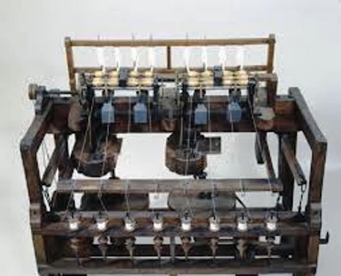 İlk dokuma makinesi
